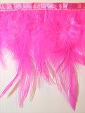 FJÄDERFRANS - hot pink