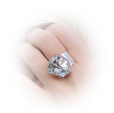 DIAMOND - Crystal  /ring 19 mm