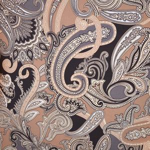 PAISLEY - brun/svart/grå