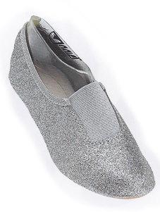 DANSSKO - silverglitter