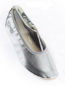 RYTMIKSKO - silver / gummisula