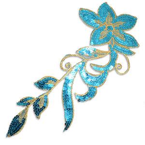 SPARKLING FLOWER - turkos