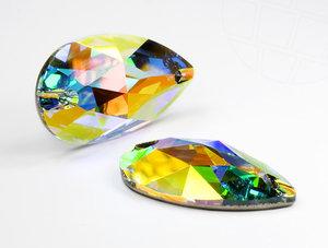 3230 DROPPE Crystal AB (001 AB) 12x7 mm