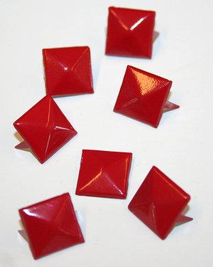 PUNKNITAR - röda 12 mm