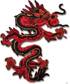Drake - röd