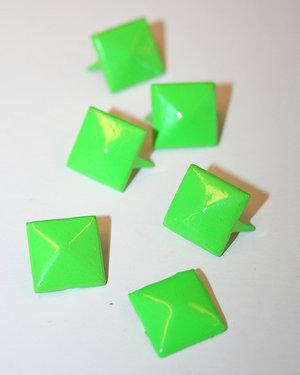 PUNKNITAR - neongrön 12 mm