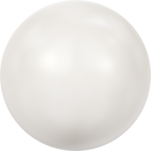 SS16 Crystal White Pearl, Cabochon