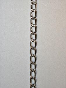 KEDJA - silver, 5x7 mm