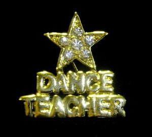 """PINS - """"DANCETEACHER"""""""