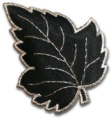 Löv - svart/silver