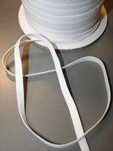 Resår - vit 6 mm (kantresår)