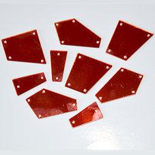SPEGELSTRASS - röd