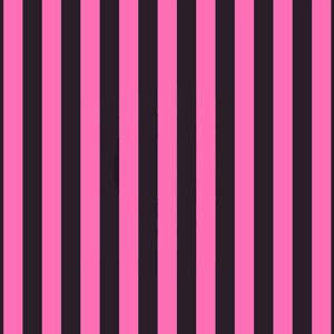 STRIPE svart/rosa