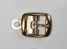 METALLSPÄNNE guld 2,7x2,3 cm