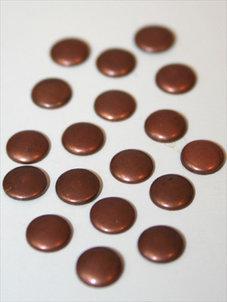 RUNDA  koppar,  6 mm,  100 st.