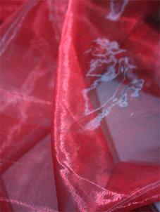 ORGANZA - röd