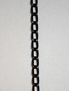 KEDJA - svart, 5x7 mm