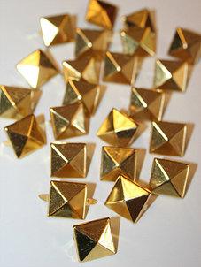 PUNKNITAR - guld 12 mm