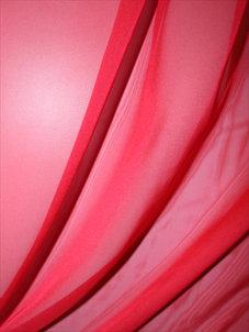 CHIFFON | Röd klar