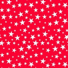 STARS - röd/vit