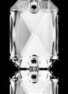 3252 EMERALD CUT Crystal 14x10 mm
