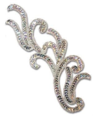 ORNAMENT - silver