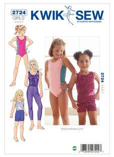 Tights, Shorts & Body 4-7 år