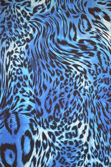 LEOPARD - blå