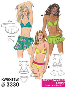 Bikini, kjol - MIX & MATCH