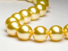 PÄRLA | Crystal Gold - 8 mm