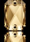3252 EMERALD CUT Golden Shadow 14x10 mm