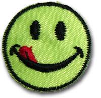 """""""Smiley"""" neongrön"""