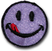 """""""Smiley"""" lila"""