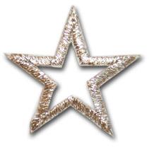 """Star """"open"""" - silver"""