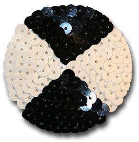 Cirkel svart/vit