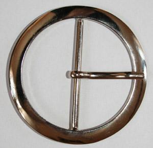 Metallspänne - Runt 6 cm