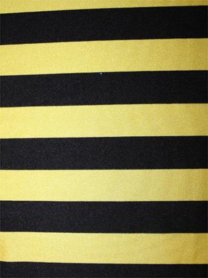 STRIPE svart/gul