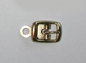 METALLSPÄNNE guld 1,5x2 cm