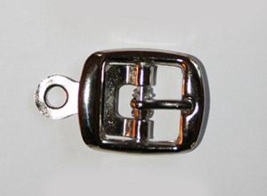 METALLSPÄNNE silver 2,7x2,3 cm