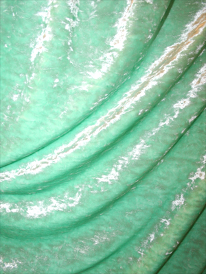 KROSSAD SAMMET - mintgrön